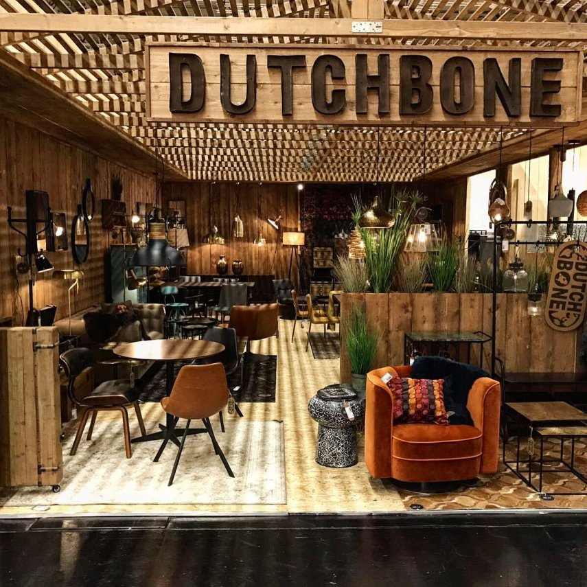 Dutchbone Messestand auf der IMM Cologne